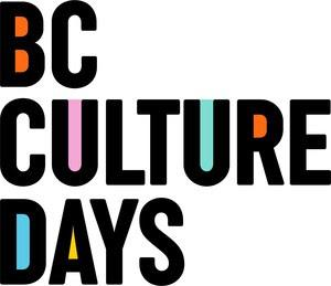 BC CULTURE DAYS Celebrates Metro Vancouver Arts With Expanded Lineup Of Virtual Events