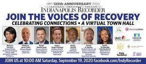 "Indianapolis Recorder to Host Virtual Roundtable ""The Voices of Recovery: Celebrating Connections"""