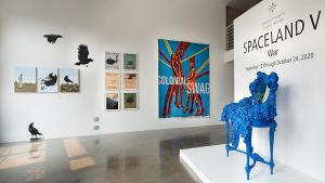 SPACELAND V | WAR On Exhibit At Bermudez Projects This Fall