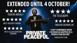 PRIVATE PEACEFUL Extends At The Barn Theatre