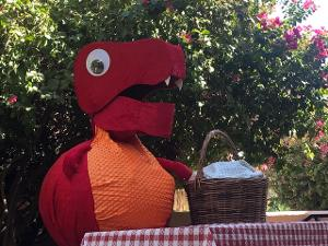THE DINOSAUR PICNIC Comes to the Great Arizona Puppet Theater Drive-In