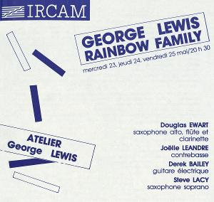 Composer George Lewis Releases World Premiere Recording Of 'Rainbow Family'