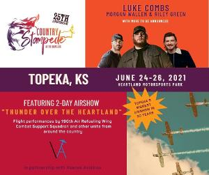 Country Stampede Returns For 25th Year June 2021