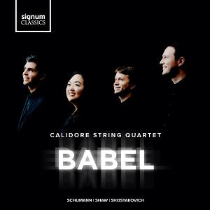 Calidore String Quartet Releases BABEL This Month