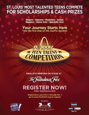 11th STL Teen Talent Competition Call For Entries Announced