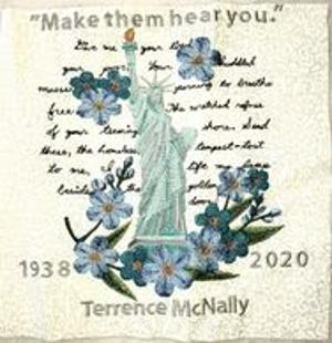 Terrence McNally Memorialized In California 8th Grade Student's 'Covid Memorial Quilt'