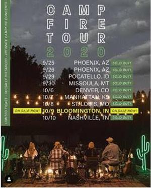 ONErpm Recording Artists The National Parks Launch The Campfire Tour 30 Shows