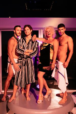 Amber Martin Stars In BETTE BATHHOUSE AND BEYOND: LIVE FROM FIRE ISLAND