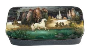 MINIATURE MASTERPIECES: RUSSIAN LACQUERED BOXES Opens October 30 At Museum Of Russian Icons