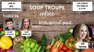 Jennifer Ashley Tepper to Stop By SOUP TROUPE ONLINE