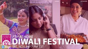 Flushing Town Hall Presents 6th Annual Diwali Festival Virtually