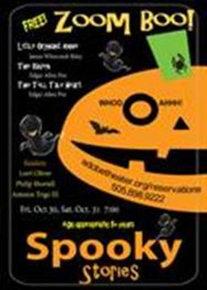 The Adobe Theater Presents Zoom Entertainment For Halloween