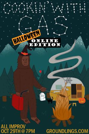 Catch Sandi McCree and Chris Kattan in The Groundling's Halloween Improv Show