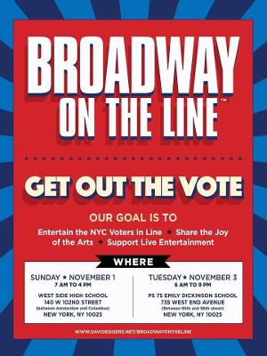 CAMA Presents BROADWAY ON THE LINE - Get Out The Vote!