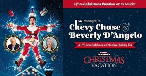 DPAC Hosts A (Virtual) Christmas With The Griswolds: An Evening With Chevy Chase & Beverly D'Angelo