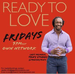 Amahle Bar & LoungeWelcomes READY TO LOVE Cast Member Tony Stubbs on November 13
