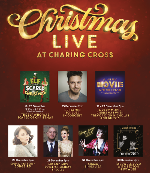 Danielle Tarento Presents CHRISTMAS LIVE AT CHARING CROSS