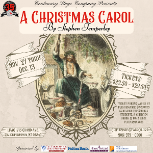 Centenary Stage Co. Rings In The Holiday Season with Stephen Temperley's Adaptation Of A CHRISTMAS CAROL
