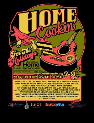 Tune In To HOME COOKIN' FOR THE HOLIDAYS, November 27