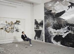 Shen Wei's Painting In Motion Exhibition Opens At Isabella Stewart Gardner Museum
