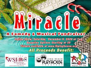 Long Beach Playhouse Holiday Fundraiser Goes Virtual