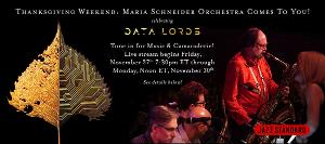 Maria Schneider Orchestra Comes To You for Thanksgiving Weekend