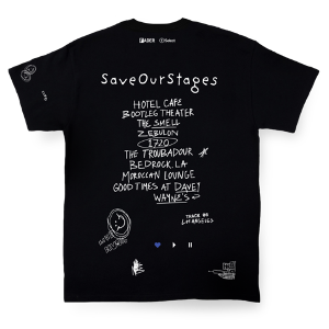 The Fader Announces Second Iteration Of The 'Save Our Stages' Collection Benefitting LA Independent Venues