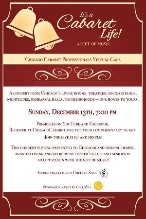 Chicago Cabaret Professionals Makes a Gift of Their FreeGala Concert