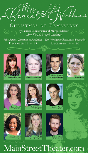 Main Street Theater Announces Free, Virtual Holiday Offerings