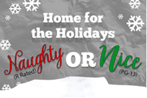 Go Home For The Holidays with Naughty & Nice Virtual Shows at Comedy Works