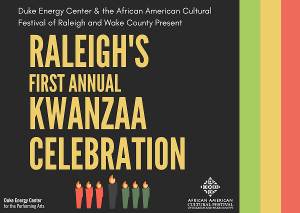 Raleigh's First Annual Kwanzaa Celebration To Air Virtually
