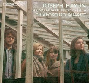 Chiaroscuro Quartet Releases Haydn Vol 2, Op. 76 No. 4-6