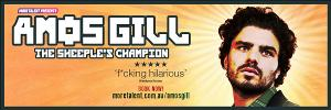 Comedian Amos Gill Takes His New Show To Australian Comedy Festivals!