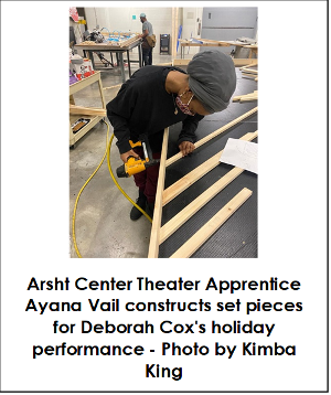 Arsht Center's Technical Theater Apprenticeship Program Continues Hands-on Career Training