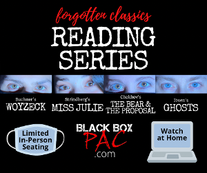 Black Box PAC's 'Forgotten Classics' Stage Reading Series Debuts in February