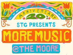 STG Announces 20th Annual MORE MUSIC @ THE MOORE: Virtual Celebration!