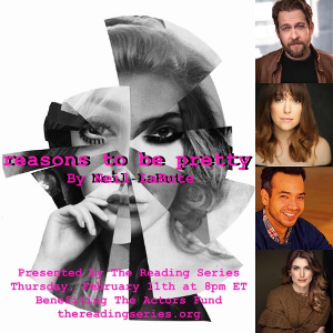 Andrew Kober, Jessica Vosk, Kahlil Garcia, and Janine Divita Join The Reading Series' REASONS TO BE PRETTY