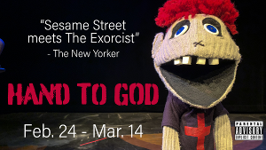 HAND TO GOD Opens Next Week at Jobsite Theater