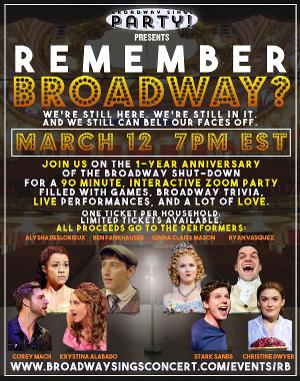 Stark Sands, Krystina Alabado, Alysha Deslorieux, and More Announced For REMEMBER BROADWAY?