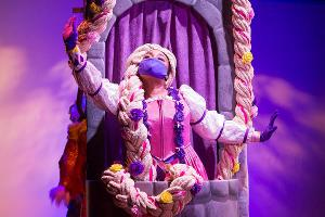 Last Weekend to See In-Person Performances of TCT's RAPUNZEL'S HAIRY FAIRY TALE