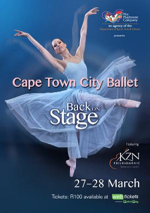Cape Town City Ballet Back On Stage At The Playhouse Opera Theatre