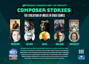 COMPOSER STORIES: THE EVOLUTION OF MUSIC IN VIDEO GAMES Panel Comes to Wondercon 2021
