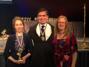 Zakary Reynolds and Lauren Swain Win First Place in the United States International Duo Piano Competition