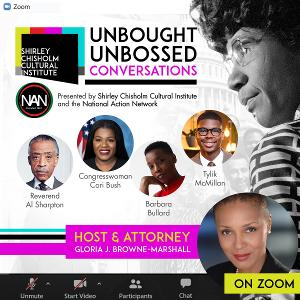 Explore Shirley Chisholm's Legacy Then And Now in UNBOUGHT UNBOSSED CONVERSATIONS