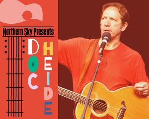 Northern Sky Presents Singer-Songwriter Doc Heide In Concert