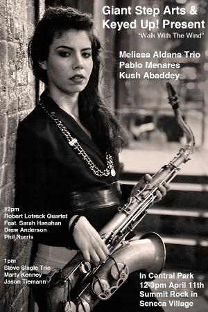 William Parker & Melissa Aldana Trios Perform In Central Park As Part Of WALK WITH THE WIND