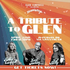 Glen Campbell Museum Announces Special Tribute Concert