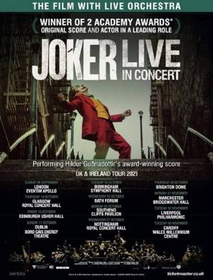 JOKER - LIVE IN CONCERT Embarks on UK and Ireland Tour From 26 September