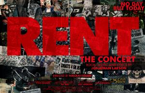 Concert Production of RENT  Comes to Curve This Summer