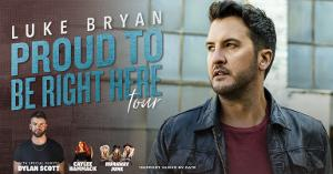2021 ACM Entertainer Of The Year Luke Bryan Announces 'Proud To Be Right Here' Tour